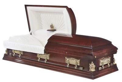 Michaelangelo casket